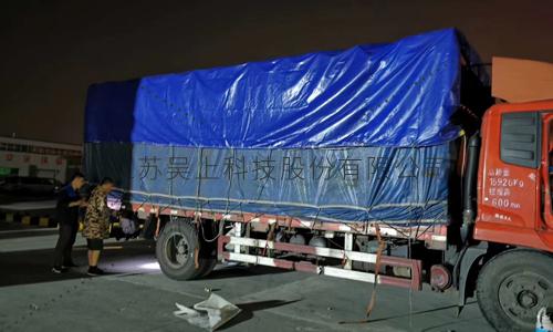 杭州浙江客户订购实验室通风柜-发货现场