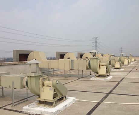 实验室通风管路系统